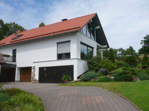 Zufahrt Haus Walther